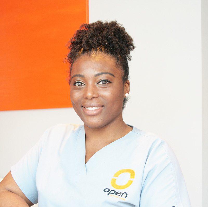 Naila Shaw is a dental hygiene therapist at Open Dental Care in Islington London N7