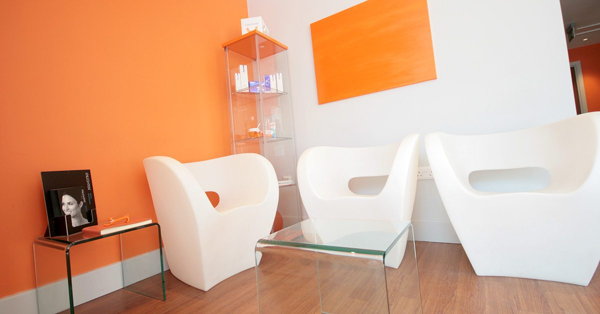 Open Dental Care Waiting room at Islington Dentist