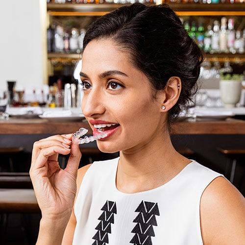 invisalign teeth straightening in london n7